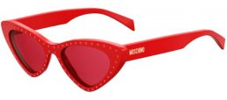 Sunglasses - Moschino - MOS006/S - C9A (4S) RED // BURGUNDY