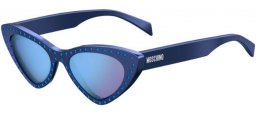 Sunglasses - Moschino - MOS006/S - PJP (35) BLUE // LILAC MULTILAYER BLUE