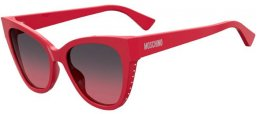 Sunglasses - Moschino - MOS056/S - C9A (FF) RED // GREY FUCHSIA GRADIENT