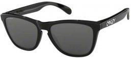 Gafas de Sol - Oakley - FROGSKINS OO9013 - 9013-C4 POLISHED BLACK    fceb3a1170