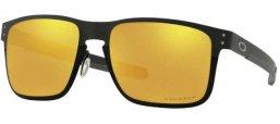 56ebab7c58 Gafas de Sol - Oakley - HOLBROOK METAL OO4123 - 4123-20 POLISHED BLACK /