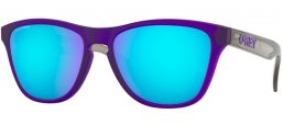 Frames Junior - Oakley Junior - FROGSKINS XS OJ9006 - 9006-11 MATTE TRANSLUCENT CRYSTAL PURPLE // PRIZM SAPPHIRE
