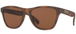 Frames Junior - Oakley Junior - FROGSKINS XS OJ9006 - 9006-16 MATTE BROWN TORTOISE // PRIZM TUNGSTEN