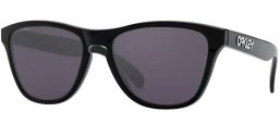 Frames Junior - Oakley Junior - FROGSKINS XS OJ9006 - 9006-22 POLISHED BLACK // PRIZM GREY