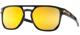 Sunglasses - Oakley - LATCH BETA OO9436 - 9436-04 POLISHED BLACK // PRIZM 24K POLARIZED