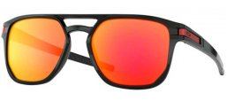 Sunglasses - Oakley - LATCH BETA OO9436 - 9436-07 POLISHED BLACK // PRIZM RUBY