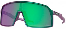 Sunglasses - Oakley - SUTRO OO9406 - 9406-47 TLD MATTE PURPLE GREEN SHIFT // PRIZM JADE