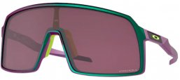Sunglasses - Oakley - SUTRO OO9406 - 9406-60 GREEN PURPLE SHIFT // PRIZM ROAD BLACK