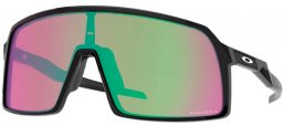 Sunglasses - Oakley - SUTRO OO9406 - 9406-21 POLISHED BLACK // PRIZM SNOW JADE IRIDIUM