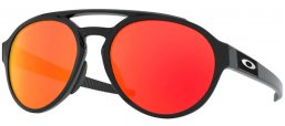 Gafas de Sol - Oakley - FORAGER OO9421 - 9421-13 POLISHED BLACK // PRIZM RUBY