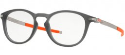 Frames - Oakley Prescription Eyewear - OX8105 PITCHMAN R - 8105-15 SATIN GREY SMOKE