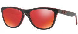 Gafas de Sol - Oakley - OAKLEY FROGSKINS - 9013A7 ECLIPSE RED // TORCH IRIDIUM