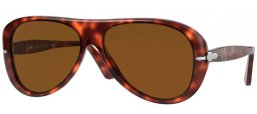Sunglasses - Persol - PO3260S - 24/57 HAVANA // BROWN POLARIZED
