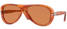Sunglasses - Persol - PO3260S - 96/AN TERRA DI SIENA // LIGHT BROWN POLARIZED