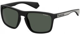 Sunglasses - Polaroid - PLD 2079/S - 003 (M9) MATTE BLACK // GREY POLARIZED