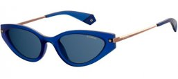 Sunglasses - Polaroid - PLD 4074/S - PJP (C3) BLUE // GREY POLARIZED