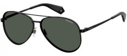 Sunglasses - Polaroid - PLD 6069/S/X - 807 (M9) BLACK // GREY POLARIZED