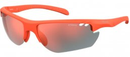 Sunglasses - Polaroid Sport - PLD 7026/S - 2M5 (OZ) MATTE ORANGE // RED MIRROR POLARIZED