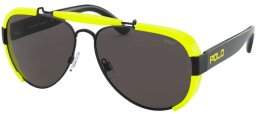 Sunglasses - POLO Ralph Lauren - PH3129 - 900387 BLACK // GREY