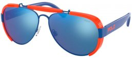 Sunglasses - POLO Ralph Lauren - PH3129 - 940355 ROYAL BLUE // BLUE MIRROR BLUE