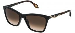 Sunglasses - Carolina Herrera New York - SHN559M - 700K BLACK // BROWN GRADIENT
