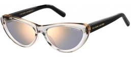 Sunglasses - Marc Jacobs - MARC 457/S - R6S (K1) GREY BLACK // GOLD MIRROR