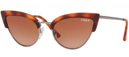 Sunglasses - Vogue - VO5212S - 279313 YELLOW HAVANA // BROWN GRADIENT
