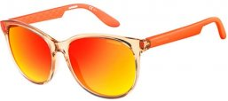 Sunglasses - Carrera - CARRERA 5001 - 8UH (UZ) BEIGE ORANGE // RED MIRROR