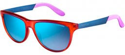 Sunglasses - Carrera - CARRERA 5015/S - 8QW (DK) ORANGE  BLUE VIOLET // BLUE SKY MIRROR