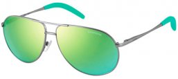 Gafas Junior - Carrera Junior - CARRERINO 11 - R81 (Z9) MATTE RUTHENIUM // MULTILAYER GREEN