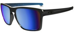 Gafas de Sol - Oakley - OO9341 SLIVER XL - 934112 POLISHED BLACK // PRIZM DEEP H2O POLARIZED