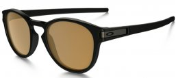 Gafas de Sol - Oakley - OO9265 LATCH - 926507 MATTE BLACK // BRONZE POLARIZED