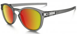 Gafas de Sol - Oakley - OO9265 LATCH - 926515 MATTE GREY INK // RUBY IRIDIUM