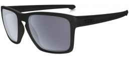 Gafas de Sol - Oakley - OO9341 SLIVER XL - 934101 MATTE BLACK //  GREY POLARIZED