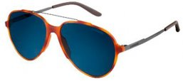 Sunglasses - Carrera - CARRERA 118/S - T6L (8F) LIGHT HAVANA DARK RUTHENIUM // BLUE