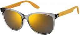 Sunglasses - Carrera - CARRERA 5001 - B8P (JO) GREY YELLOW // GREY BRONZE MIRROR