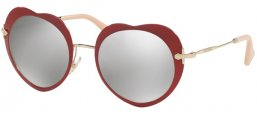 Gafas de Sol - Miu Miu - SMU 54RS - USS2B0 RED // LIGHT GREY MIRROR SILVER
