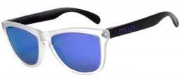 Gafas de sol - Oakley - OO9013 FROGSKINS HERITAGE COLLECTION - 24-419 MATTE CLEAR BLACK // VIOLET IRIDIUM