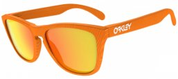 Gafas de Sol - Oakley - OO9013 FROGSKINS - 901353 FINGERPRINT ATOMIC ORANGE // FIRE IRIDIUM