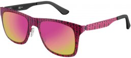 Sunglasses - Special offer - Oxydo - OX 1079/SC/S - OBL (E2) GRAPHIC PINK // PINK VIOLET GOLD MIRROR