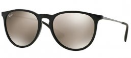 Sunglasses - Ray-Ban® - Ray-Ban® RB4171 ERIKA - 601/5A BLACK // LIGHT BROWN MIRROR GOLD