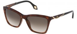 Sunglasses - Carolina Herrera New York - SHN559M - 09XW HAVANA // GREEN GRADIENT BROWN
