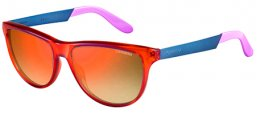 Sunglasses - Carrera - CARRERA 5015/S - 8QW (UW) ORANGE BLUE VIOLET // ORANGE MIRROR