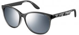 Sunglasses - Carrera - CARRERA 5001 - 6Z9 (SF) GREY CAMUFLAGE GREY // BLACK MIRROR