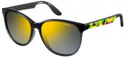 Sunglasses - Carrera - CARRERA 5001 - 79L (CU) GREY GREEN YELLOW // BROWN MIRROR YELLOW