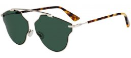 Sunglasses - Dior - DIORSOREALPOP - 3YG (QT) LIGHT GOLD // GREEN