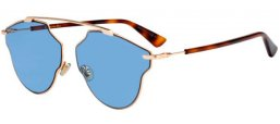 Sunglasses - Dior - DIORSOREALPOP - DDB (KU) GOLD COPPER // BLUE GREY