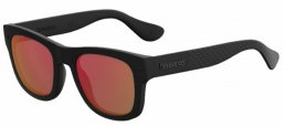 Gafas de Sol - Havaianas - PARATY/M - O9N (UZ) BLACK // RED FLASH