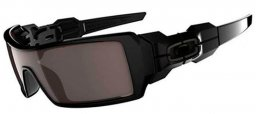 Gafas de Sol - Oakley - OAKLEY OIL RIG UPDATE - 03-460 POLISHED BLACK // WARM GREY