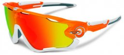 Gafas de Sol - Oakley - OO9290 JAWBREAKER - 929009 ATOMIC ORANGE // FIRE IRIDIUM POLARIZED